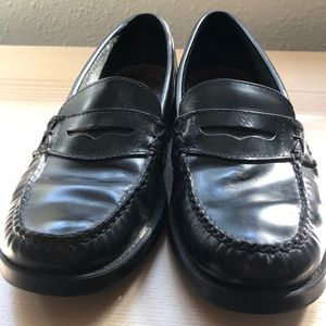 Black Weejuns Bass Penny Loafer, 8.5M